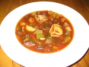 California Tortellini Soup